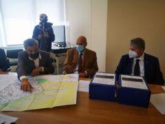Presentazione degli interventi in programma a Tolentino in località Vaglie