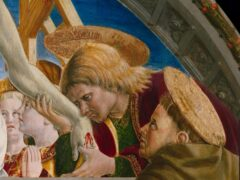 """Particolare dell'""""Annunciazione"""" di Girolamo di Giovanni"""
