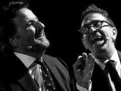 Christian De Sica e Pino Strabioli