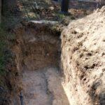 Mura scoperte presso la Rocca Borgesca di Camerino