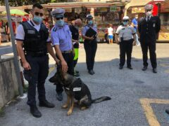 Controlli della Polizia Locale alla Fiera di San Giuliano