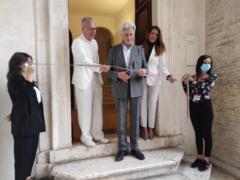 Inaugurazione a Macerata della mostra di Lorenzo Marini