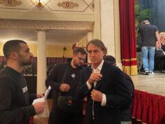Iniziate le riprese con Roberto Mancini per il nuovo spot promozionale per le Marche